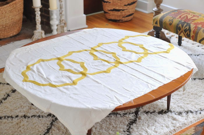 DIY Modern Boho Changing Pad Cover Tutorial Sewing