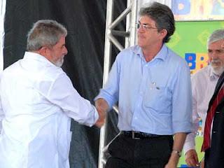 Ricardo Coutinho poderá ser o vice de Lula em 2018