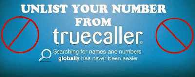 Remove number in true caller