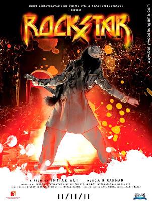 Bollywood Movie Rockstar 2011 Poster