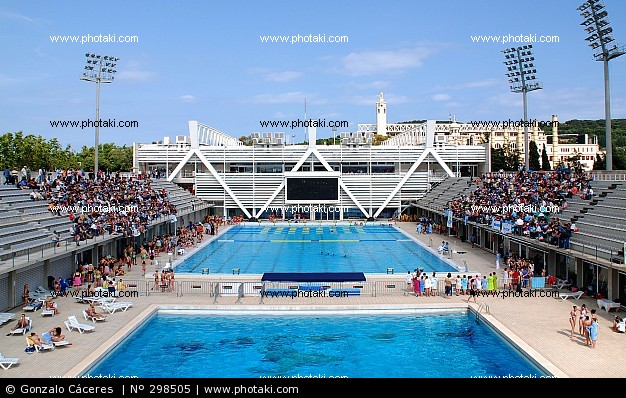El bloc d 39 en litu les esportives de for Piscina olimpica barcelona