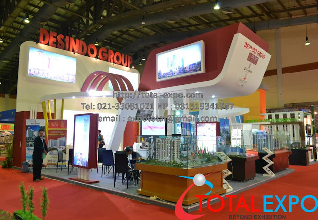 Property Exhibition Booth : Kontraktor pameran design stand booth exhibition jakarta