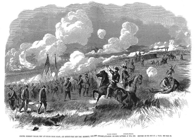 first battle of bull run First battle of bull run at the head of a large brigade, you arrive at henry hill in  virginia, near the city of manassas you hurry your regiments into position,.