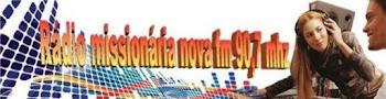 Rádio Missionaria Nova Fm 90,7 Mhz Rio de Janeiro