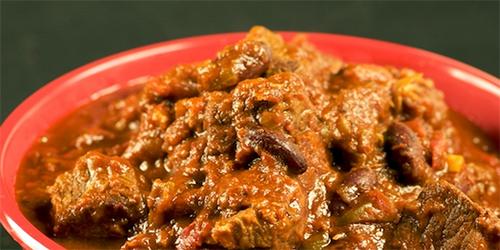 receta Chile con Carne