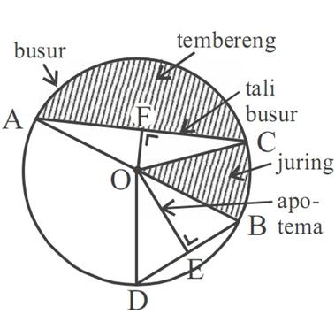 Materi Matematika Kelas 8 Smp Mts Bab 6 Lingkaran Zha Karyha Image