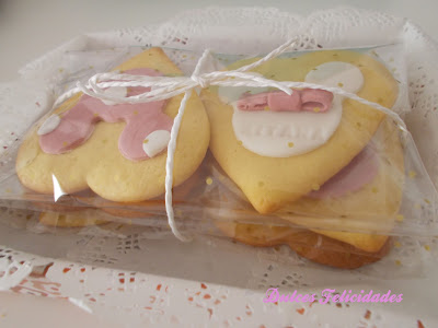 Galletas Minnie Mouse bebé