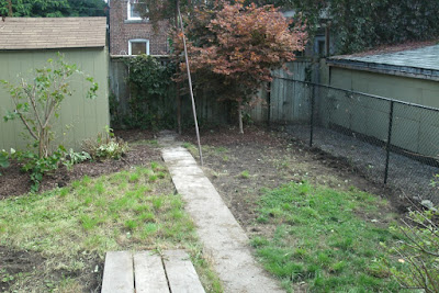 The Junction backyard garden clean up after by Paul Jung Gardening Services Toronto