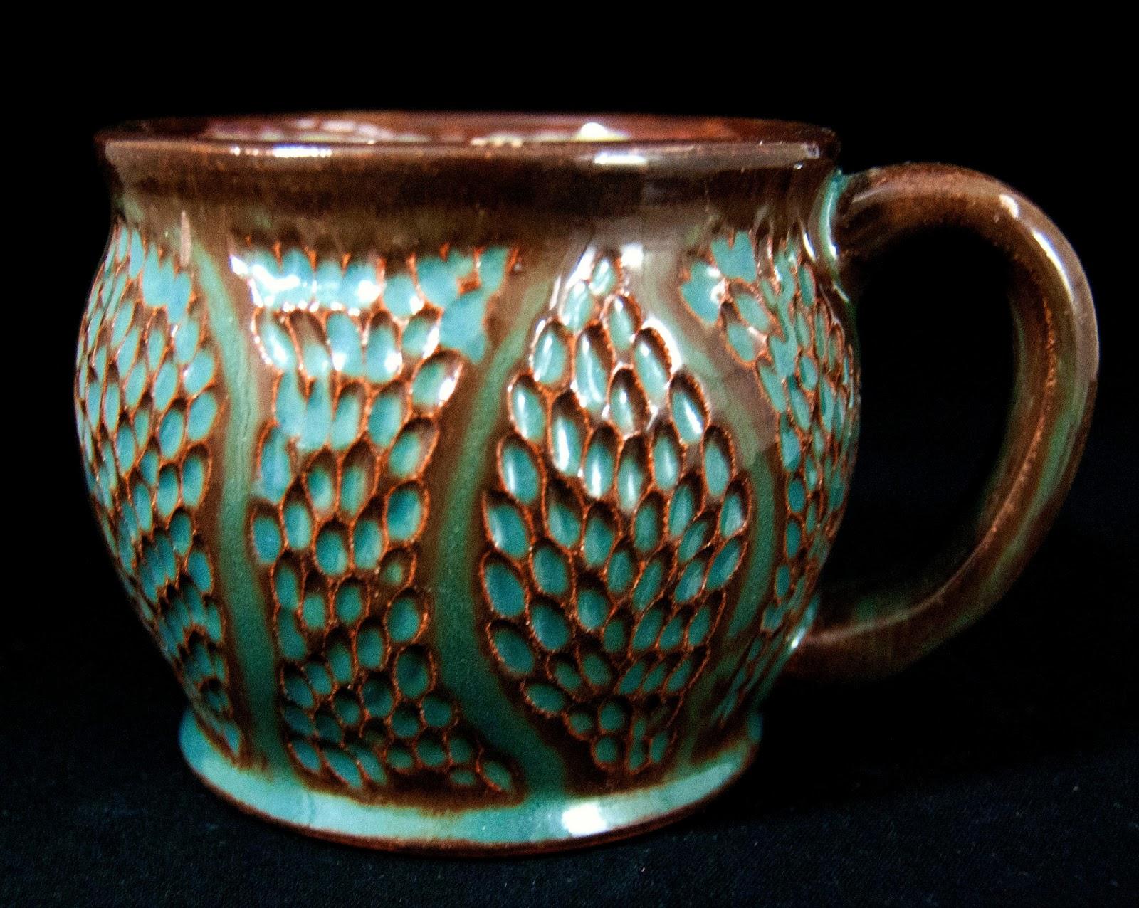 Sullivan s ceramics pottery art red