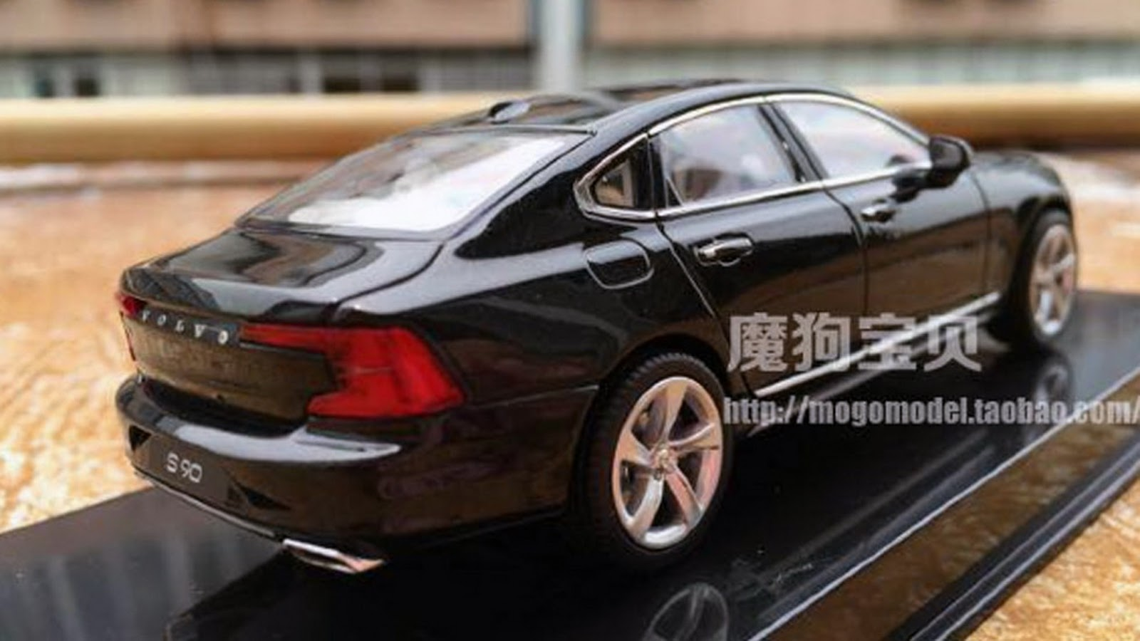 new 2016 volvo s90 sedan previewed by scale model. Black Bedroom Furniture Sets. Home Design Ideas