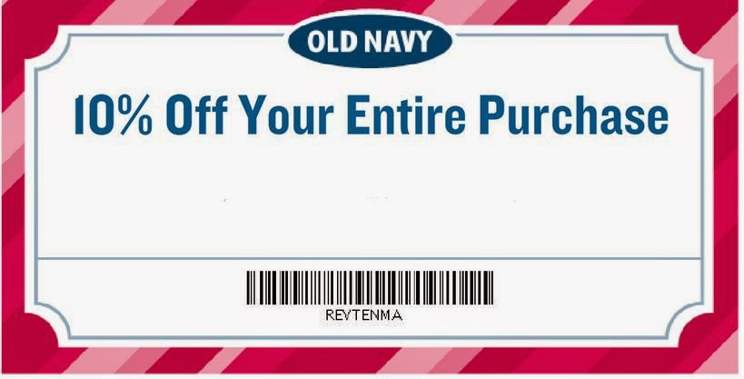 Old navy discount coupon