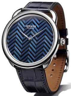 Montre Hermès Arceau Marqueterie de Paille