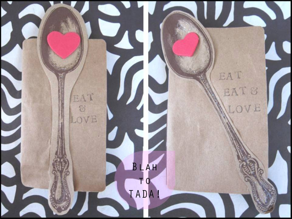 blah to TADA Gearing Up for Valentines Day – How to Make Your Own Valentines Card