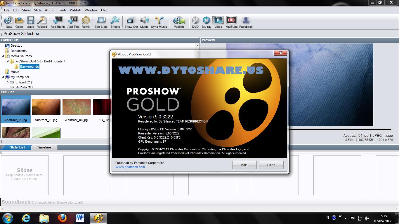 alvicom berbagi: Photodex ProShow Gold 5.0.3222
