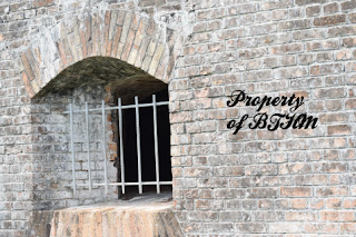 fort pickens window