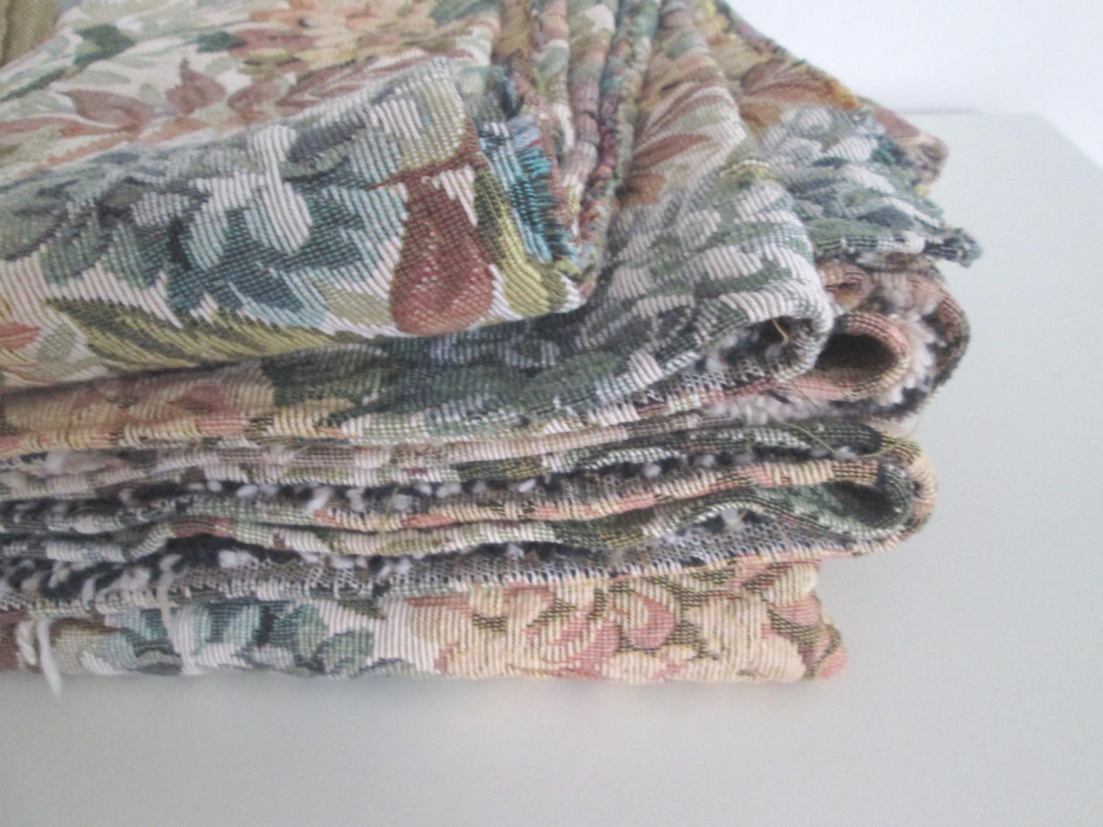 Un lundi ordinaire tissu d 39 ameublement vintage je chine pour vous - Tissu ameublement vintage ...