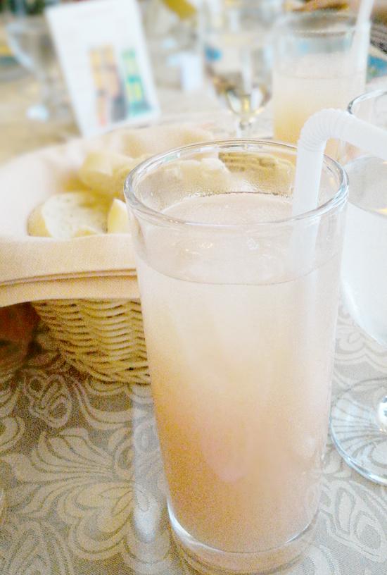 CLAUDE'S CAFFE DE VILLE Bread, Butter, Salsa | Pomelo Juice
