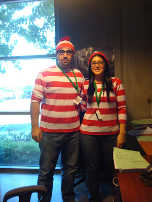 GotPrint halloween 2011 where's waldo costumes