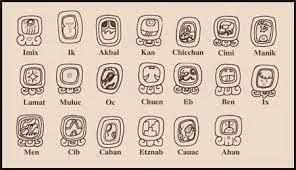 Símbolos del Calendario Maya