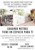 Ganando Metros tiene un espacio para tí