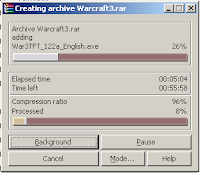 memperkecil ukuran file dengan menggunakan winrar