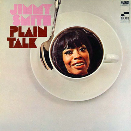 jimmy smith - plain talk (sleeve art)