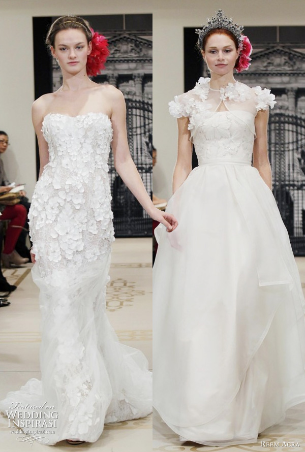 ask cynthia wedding dress love reem acra