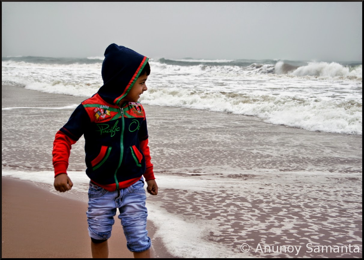 Chandrabhaga Beachscape - I am not Afraid