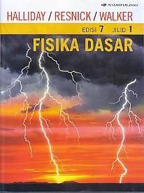 toko buku rahma: buku FISIKA DASAR, pengarang halliday, penerbit erlangga