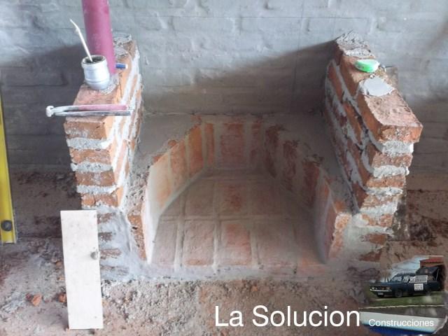 La estufa mas r pida reflectores parte 3 estufas - Como hacer chimeneas de lena ...