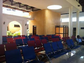 New Terminal Interior Manda Airport, Lamu