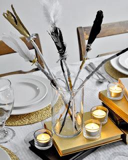 Jantar romântico decoração de mesa