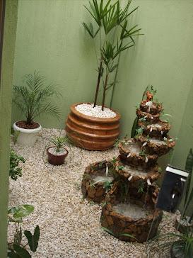 19.....ref : 0119  cascata modelo equilibrio , com decoração