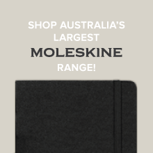 Australia's largest Moleskine range at Notemaker.
