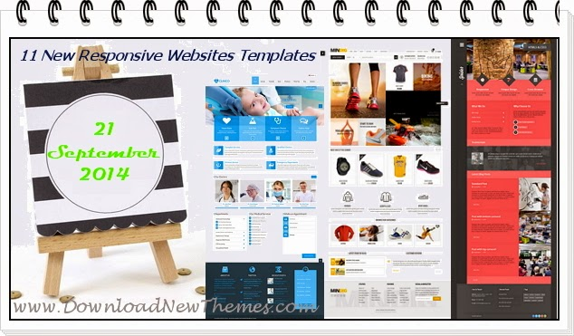free Responsive Websites Templates