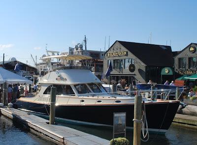 Newport Boat Show Courtship