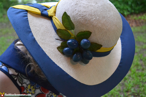 Flashback Summer: Tanith Rowan Designs - 1930s custom couture hat, millinery