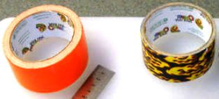 2 roll isolasi - lakban warna dan lakban printing