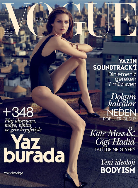 Fashion Model @ Karolin Wolter by Miguel Reveriego for Vogue Turkey, June 2015