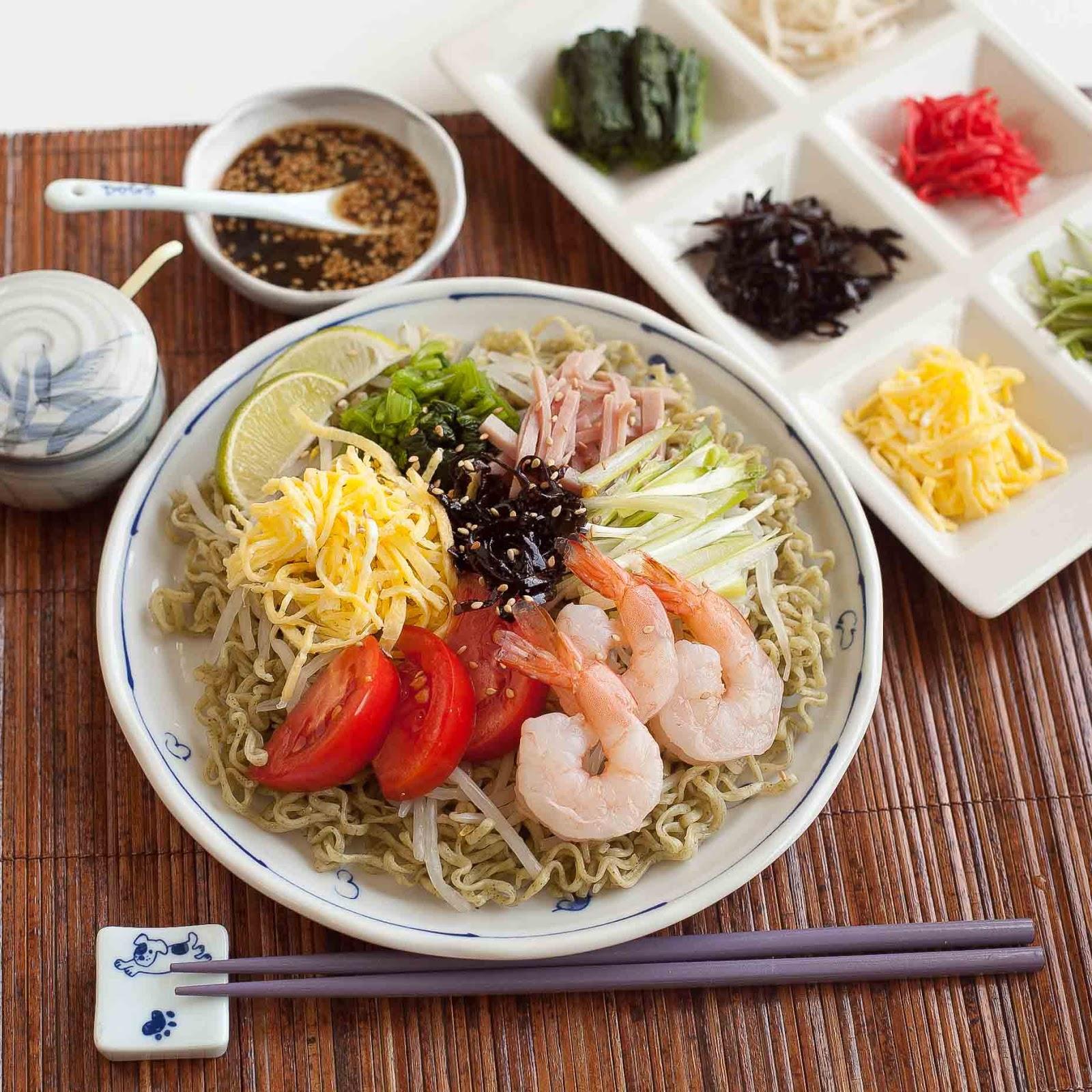 Japanese Cold Noodle Salad (Hiyashi Chuka) Recipes — Dishmaps