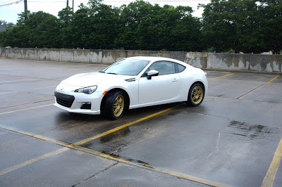 Subaru BRZ aftermarket Rims and tires