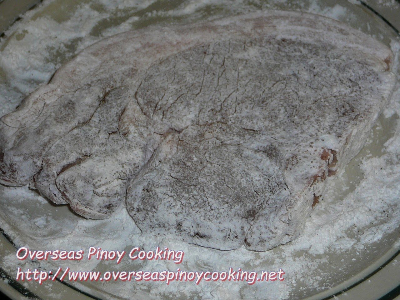 Pork Chop Flour Coating