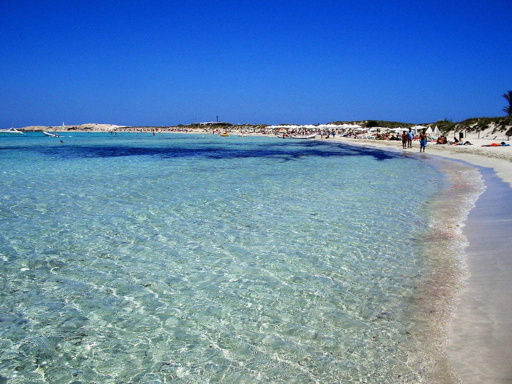 Formentera spain tourist attractions tourist destinations for Beautiful beaches in la