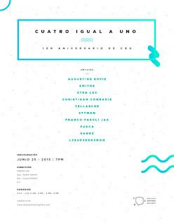 """La exposición """"Cuatro igual a uno"""" celebra el primer aniversario de la Celaya Brothers Gallery"""