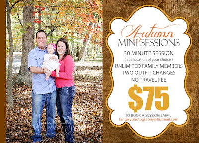 fall mini sessions in winston salem photography