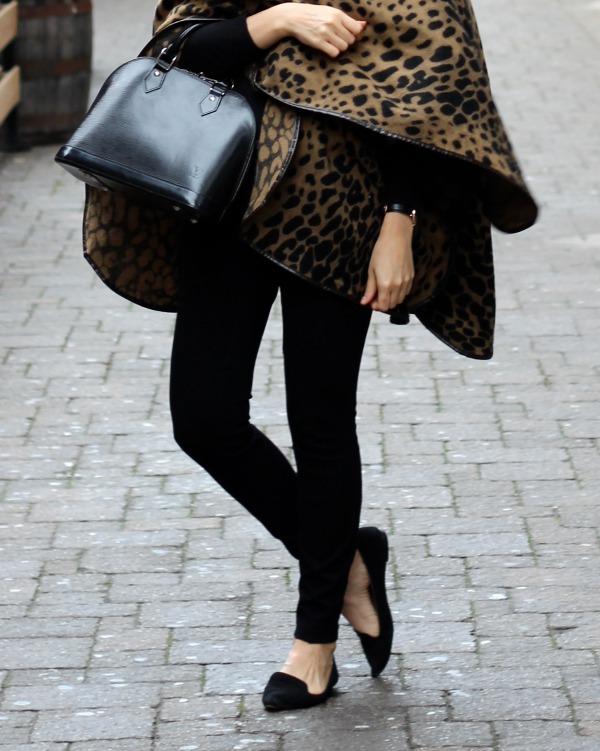 leopard wrap