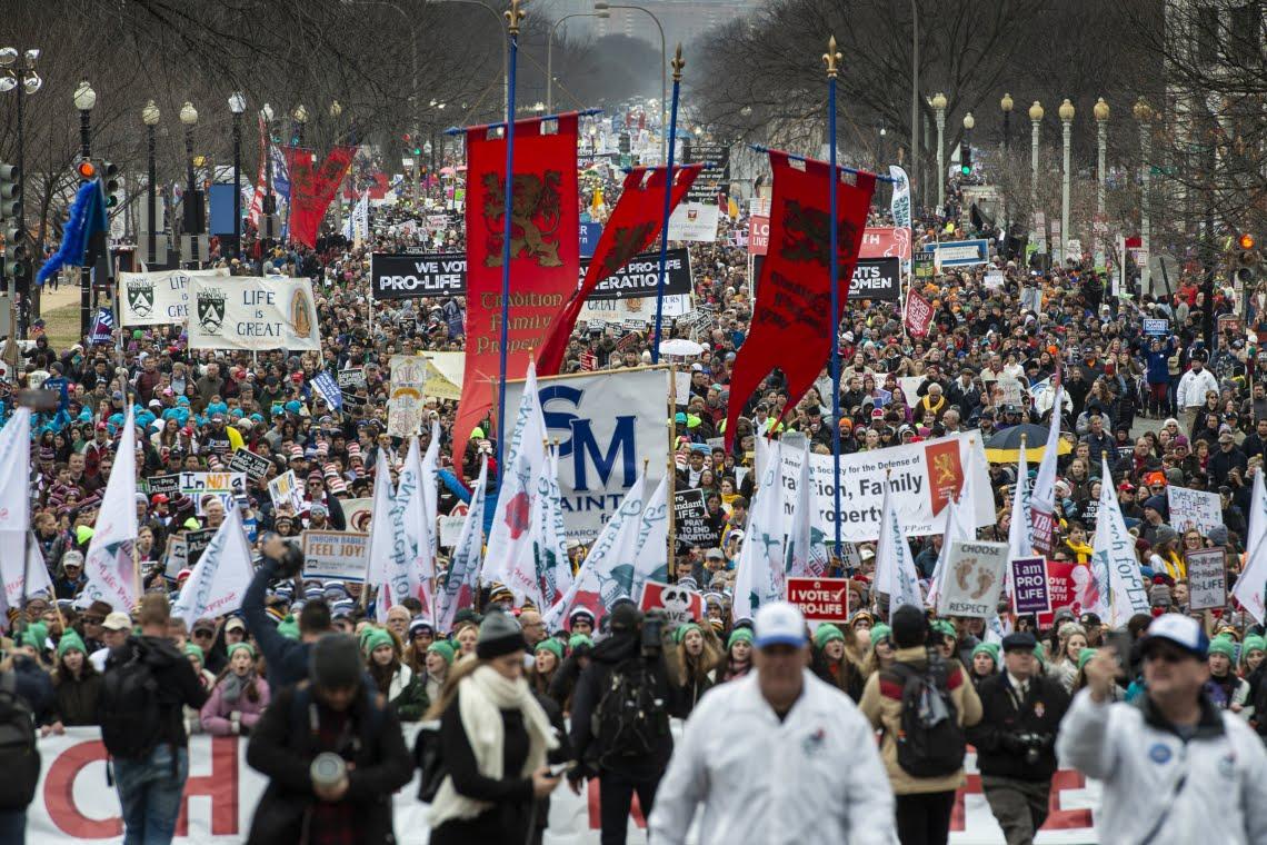 Mais de 500 mil pessoas na Marcha pela Vida EUA