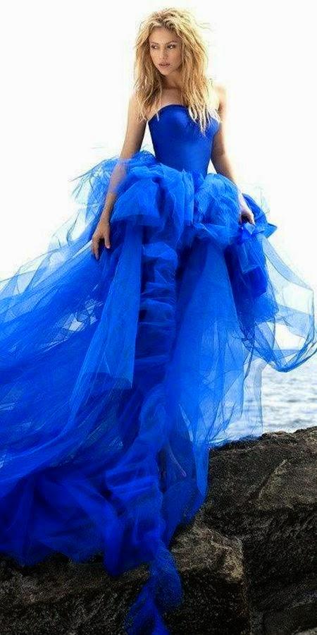 Na niebiesko