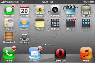 iphone homescreen landscape mode