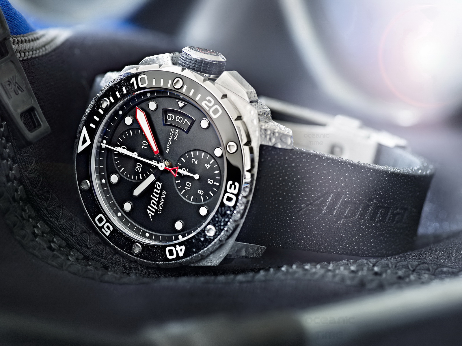All Best Watches ALPINA Extreme DIVER Chronograph AUTO - Alpina diver watch